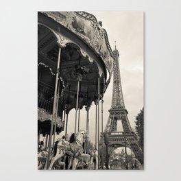 j'adore Paris Canvas Print