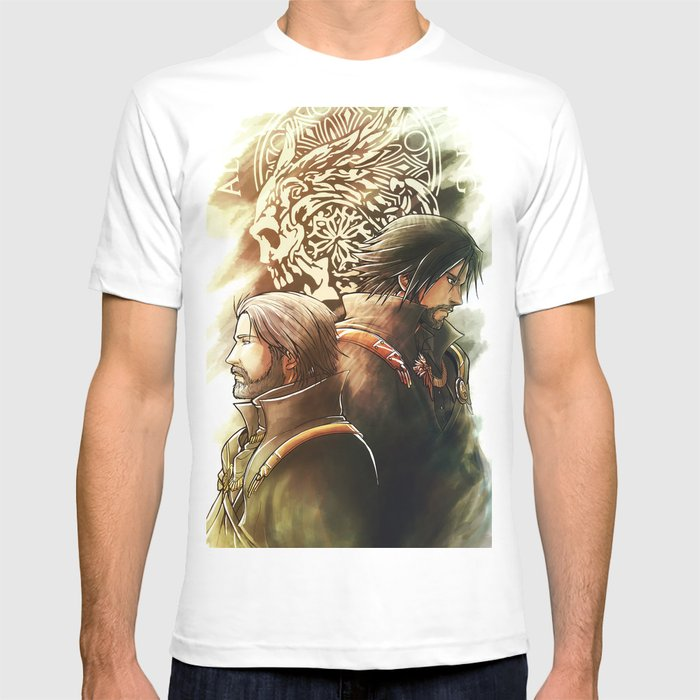 King And Prince Final Fantasy Xv T Shirt By Mcashe Art