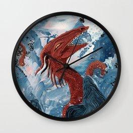 Cheerful Sea Dragon Wall Clock