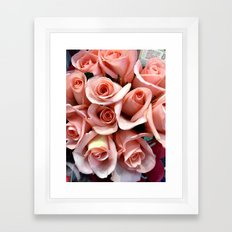 Bouquet of Pink Framed Art Print
