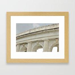 Arlington Cemetery Memorial Amphitheater Framed Art Print