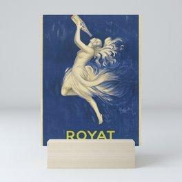 ROYAT Vintage Ad 1923 Mineral Water Mini Art Print
