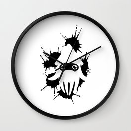 Blooper Ink Stain Wall Clock