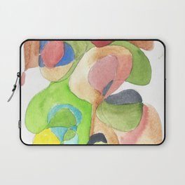 Life and Meaning 11| Abstract Watercolors Laptop Sleeve