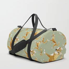 Ginger dingo pattern Duffle Bag