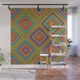 hang on to rhomb self Wall Mural