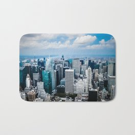 From New York to the Sky at the Manhattan Big Apple Dream Bath Mat