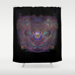 Unfolding your Psyche Shower Curtain