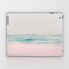 Vintage Pastel Ocean Waves Laptop & iPad Skin