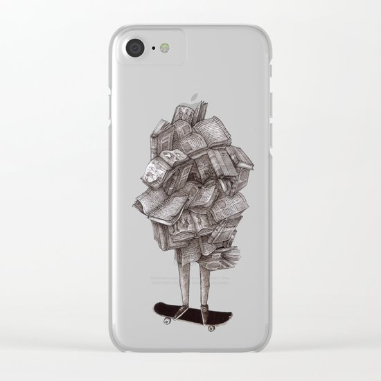 all about learning Clear iPhone Case
