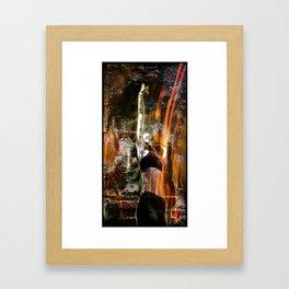 Living What burns Within Framed Art Print