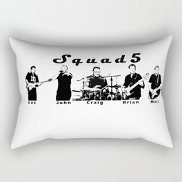 Boys in the Band Rectangular Pillow