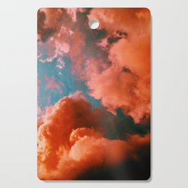 The Pink Clouds (Color) Cutting Board