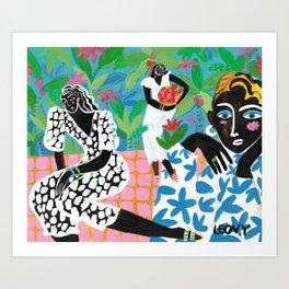 Jungle Queens Art Print