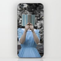 reading iPhone & iPod Skins featuring Reading by Maria Heyens