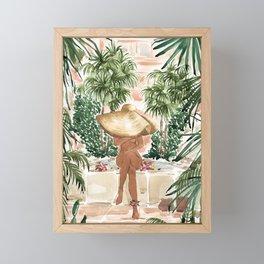 Vacation Mode Framed Mini Art Print