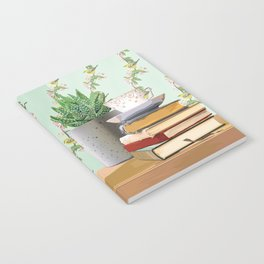Tea and book love Notebook