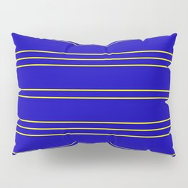Simple Lines Pattern by Pillow Sham