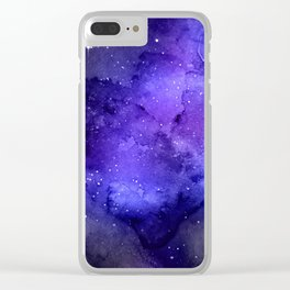 Exploring the Universe 24 Clear iPhone Case