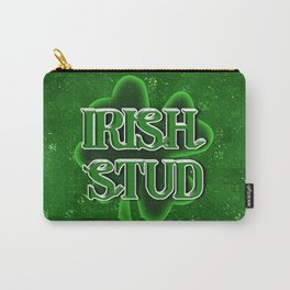 Irish Stud - St Patrick's Day Shamrock Carry-All Pouch