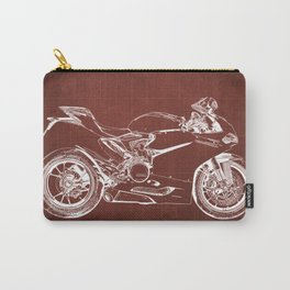 02- D Superbike 1299 Panigale 2015 red Carry-All Pouch
