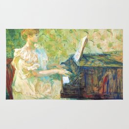 "Henri de Toulouse-Lautrec ""Misia Sert"" Rug"