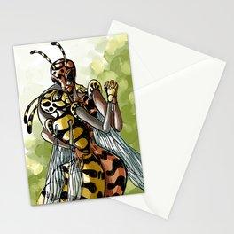 wasps couple Stationery Cards