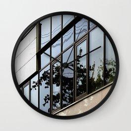 Reflections #2 Wall Clock