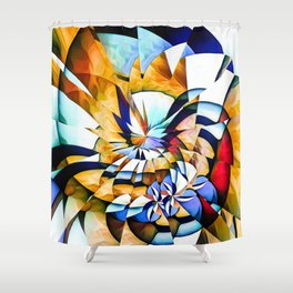 Birth Of A Butterfly Shower Curtain