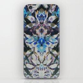 Rorschach Flowers 10 iPhone Skin