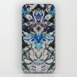 Rorschach Flowers 10 iPhone Skin