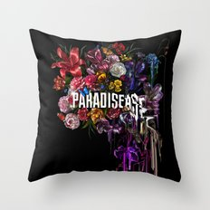 paradise.corrupt_ Throw Pillow