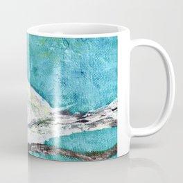 Bird in a white fluffy coat Coffee Mug