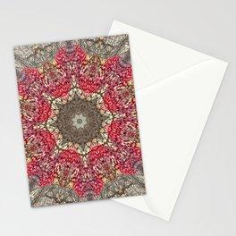 Nutty Fall Mandala Stationery Cards