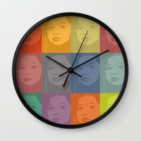 kiki Wall Clocks featuring My KiKi by ake mikaele