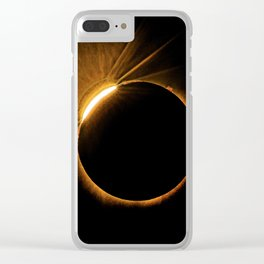 Total Solar Eclipse 8-21-17 Clear iPhone Case