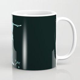 Human body black Coffee Mug