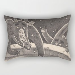 Year of the Dragon Rectangular Pillow