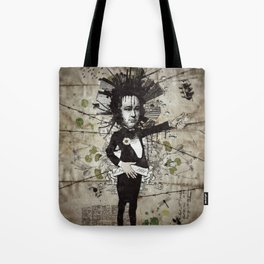 Mr. Hungry Tote Bag