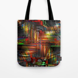 Bio-Digital Tote Bag