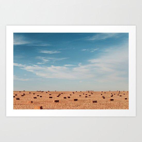 wide open spaces Art Print