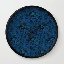 Grandma's Wallpaper Wall Clock