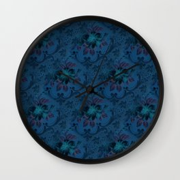Grandma's Wallpaper Wall Clock