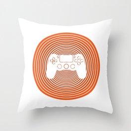 Level 10 Komplett Gamer Geburtstags Controller Throw Pillow