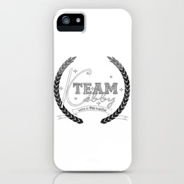 Team Kabby iPhone Case