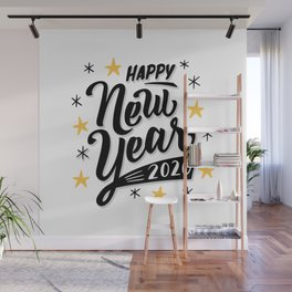 Happy new year 2020 Wall Mural