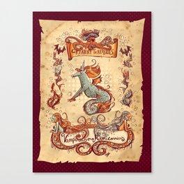 Creaturi Terribilus Canvas Print