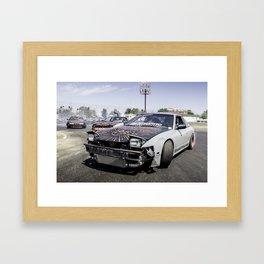 Run For Your Lives! Framed Art Print