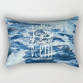 Depth x Ocean Rectangular Pillow