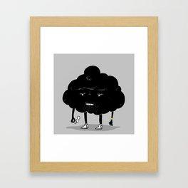 Mr. Optimistic Framed Art Print